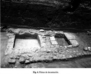 Lorca (Murcia, Spain). Basins for decantation
